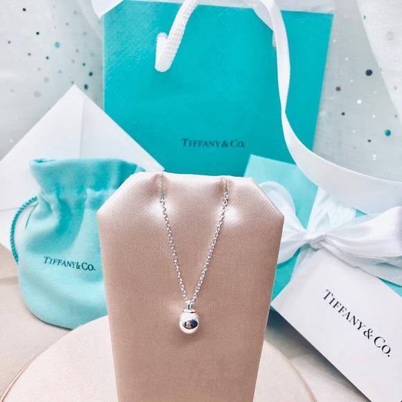 0a5009263 Tiffany & Co. Jewelry | Nwot Tco Tiffany Hardwear 8mm Ball Pendant ...